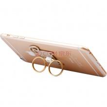 幻响(i-mu)百变羊 创意指环扣 手机支架 双指环 360度旋转 防止手机滑落 金属材质 强力粘胶