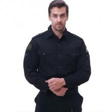 纯棉弹力修身男装商务短袖