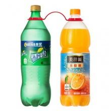 1.25L雪碧+1.25L美汁源果粒橙