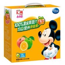 汇源 乐乐园 100%复合果蔬汁 5+7 125ml*16包
