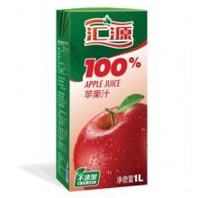 汇源 100%苹果果汁 1L/盒