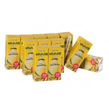 香蕉牛奶 韩国宾格瑞香蕉牛奶饮料200ml12支