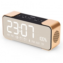 Ifkoo/伊酷尔 Q8创意无线蓝牙音箱手机插卡闹钟迷你小音响低音炮