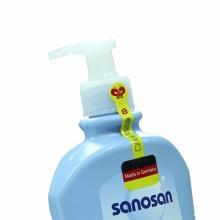 德国原装Sanosan哈罗闪婴儿洗发沐浴二合一新生儿洗发沐浴露500ml