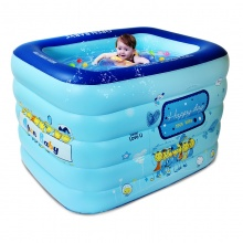 欧培(OPEN)儿童洗澡桶 加厚环保塑料宝宝沐浴桶大号