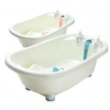 婴儿浴盆 宝宝洗澡盆幼儿感温澡盆新生儿洗澡桶 儿童大号沐浴用品